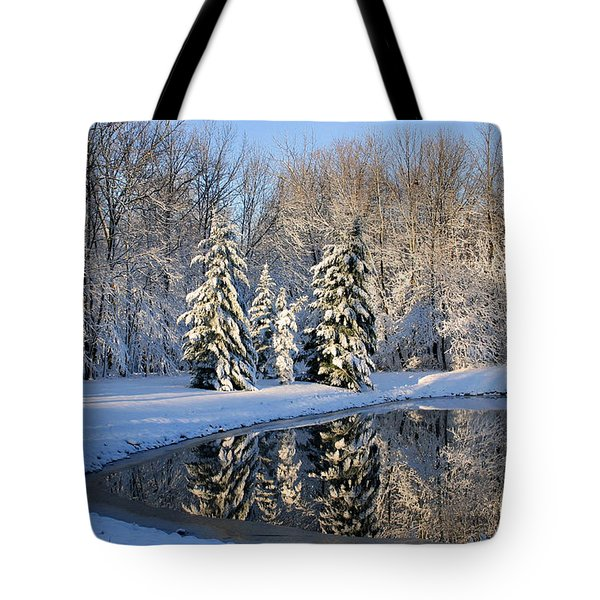 Treeflections Tote Bag