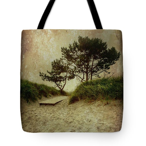 Trees By The Sea Tote Bag