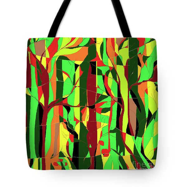 Trees In The Garden Tote Bag