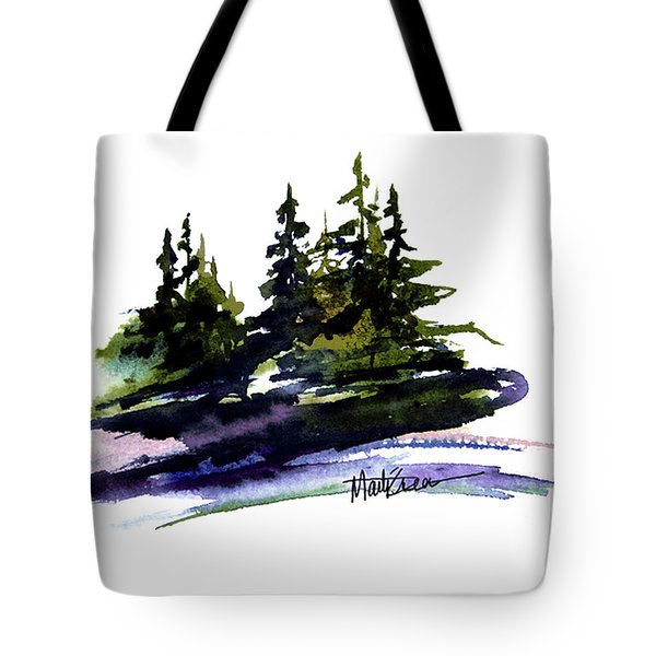 Trees Tote Bag by Marti Green