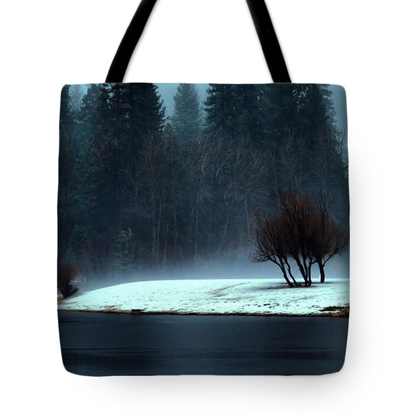 Trees On Point Tote Bag by Josephine Buschman