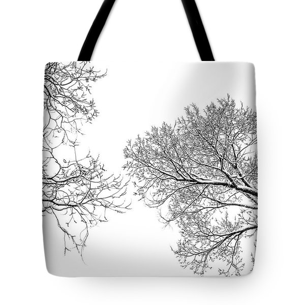 Tote Bag featuring the photograph Trees Reaching by Marilyn Hunt
