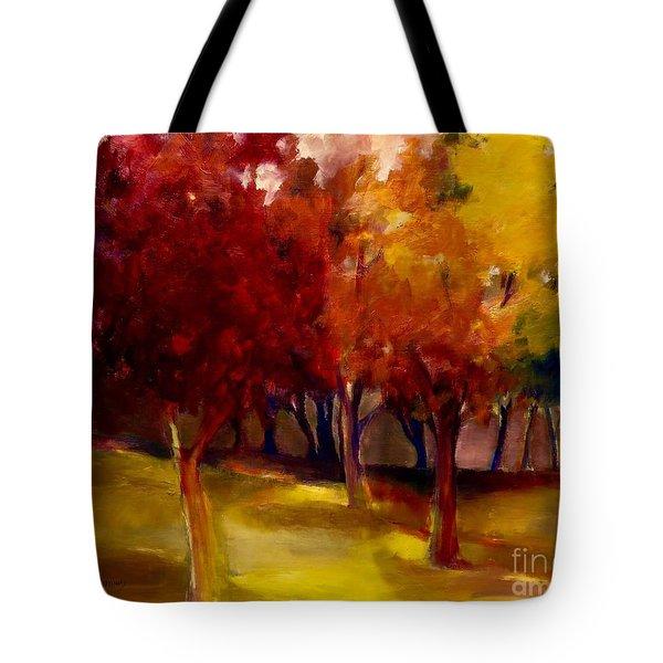 Treescape Tote Bag
