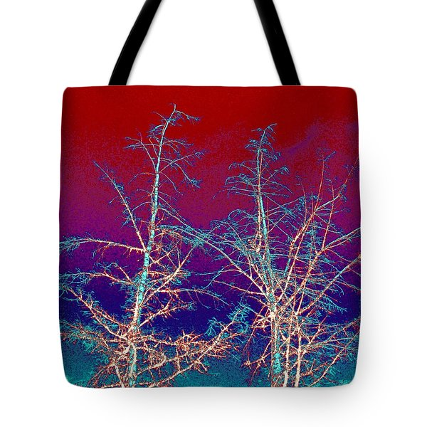 Treetops 4 Tote Bag by Will Borden