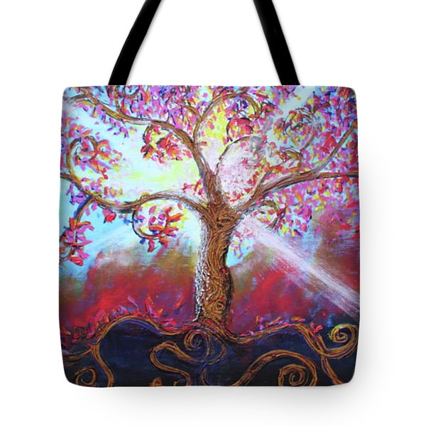 Treevelation Tote Bag