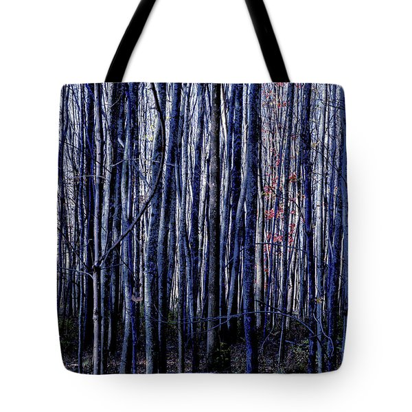 Treez Blue Tote Bag