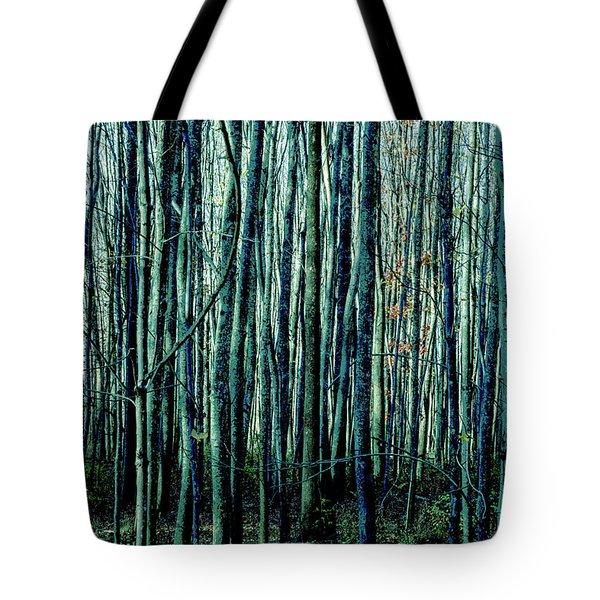Treez Cyan Tote Bag