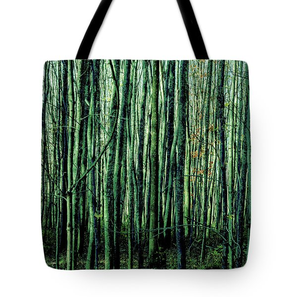 Treez Green Tote Bag