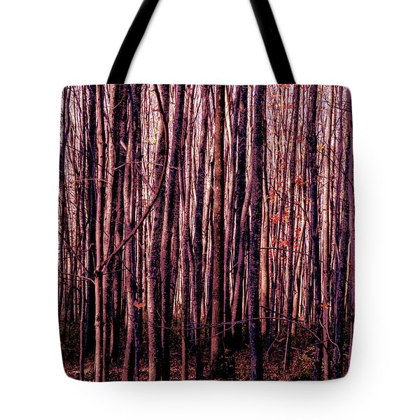 Treez Red Tote Bag