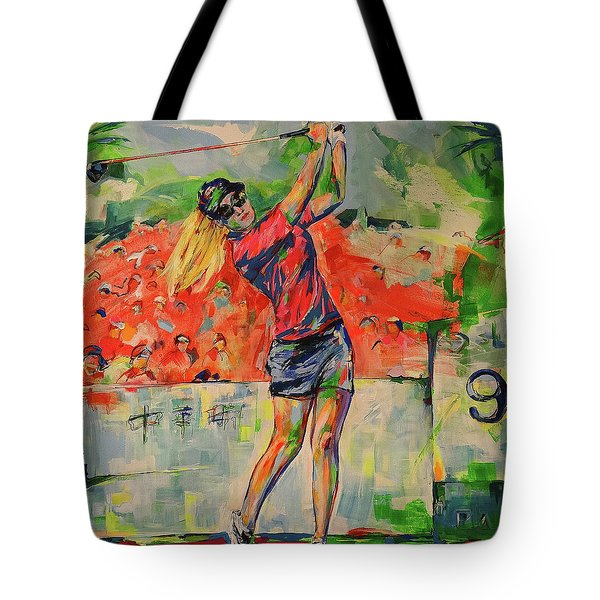 Treibschlag Vom 9 Tee  Drive From The 9th Tee Tote Bag
