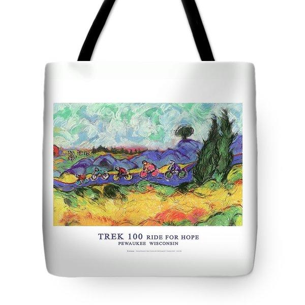 Trek 100 Poster Tote Bag
