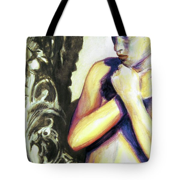 Trembling Flower Tote Bag