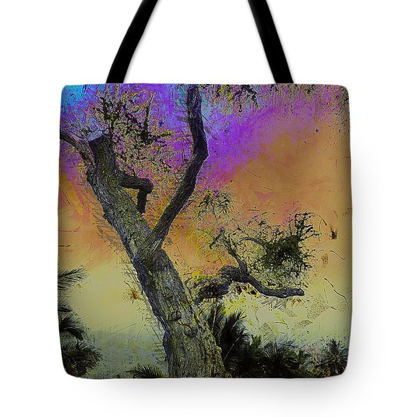 Tote Bag featuring the photograph Trembling Tree by Lori Seaman