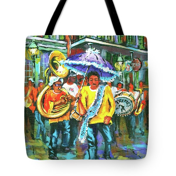 Treme Brass Band Tote Bag