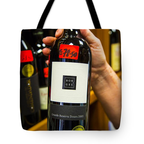 Tremendous Wine Tote Bag