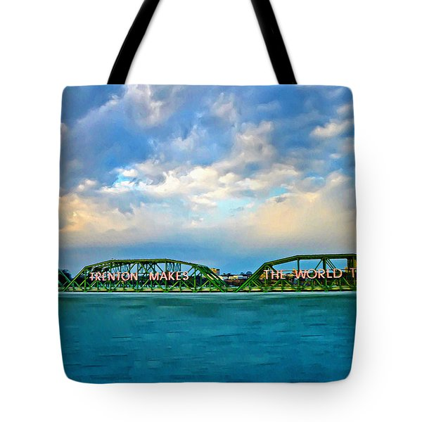 Trenton Makes The World Takes Tote Bag
