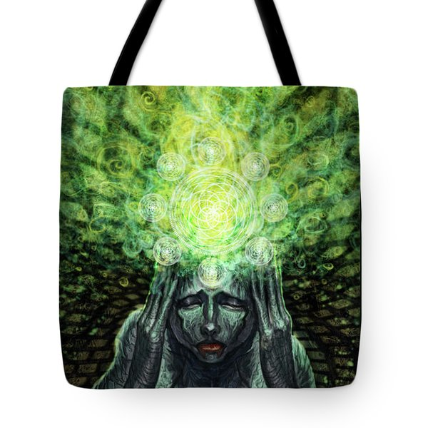 Trepidation Of Existence Tote Bag by Tony Koehl