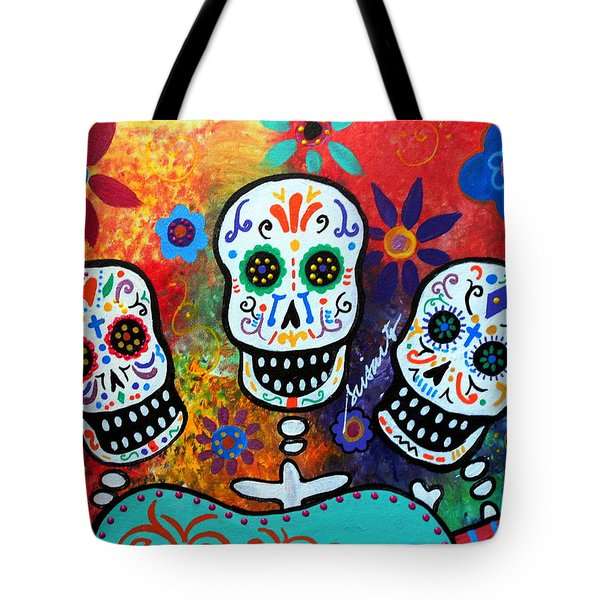 Tres Amigos Guitar Tote Bag