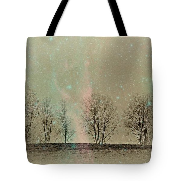 Tress In Starlight Tote Bag