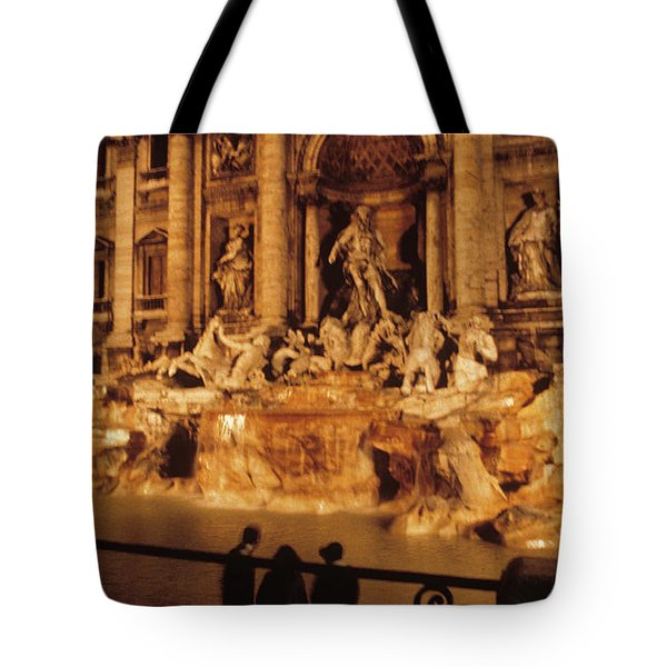 Trevi At Night Tote Bag
