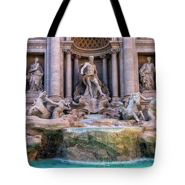 Trevi Fountain, Roma, Italy Tote Bag