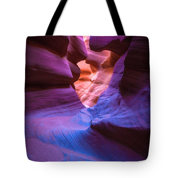 Tri-color- Lower Antelope Canyon Tote Bag by Tim Bryan