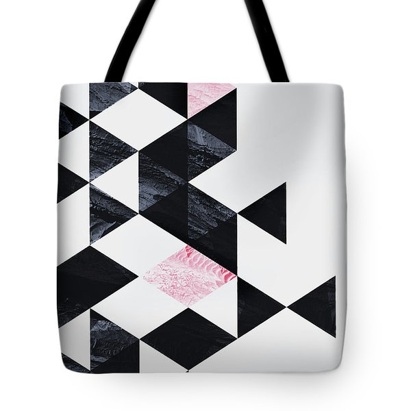 Triangle Geometry Tote Bag
