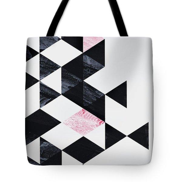 Triangle Geometry Tote Bag