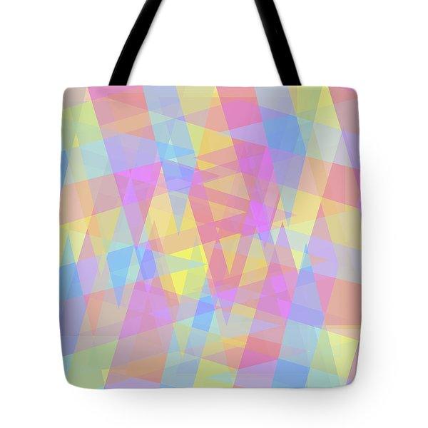 Triangle Jumble 2 Tote Bag