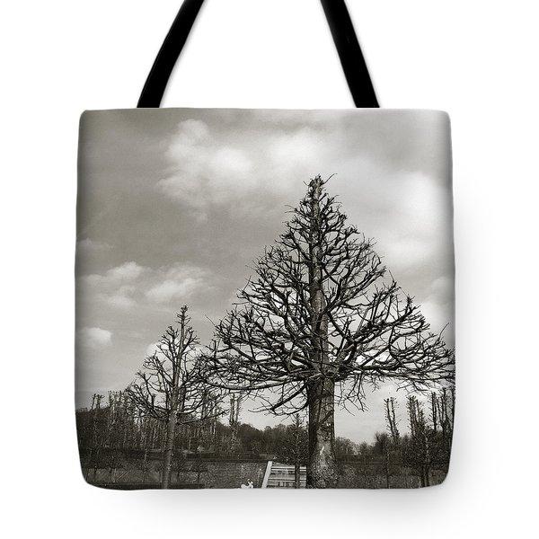 Triangle Trees Tote Bag