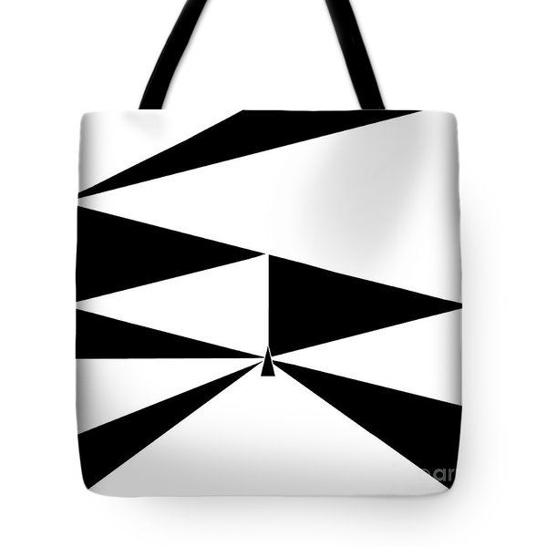 Triangles 2 Tote Bag by Eloise Schneider
