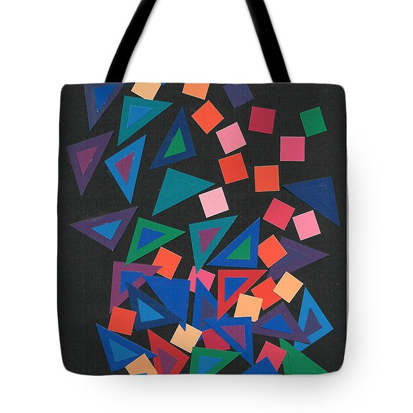 Triangles Ball Tote Bag