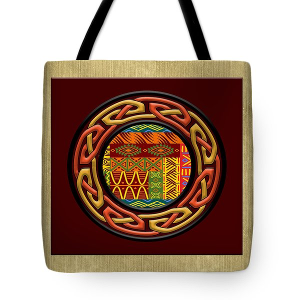 Tribal Celt Nsomba Tote Bag by Kandy Hurley