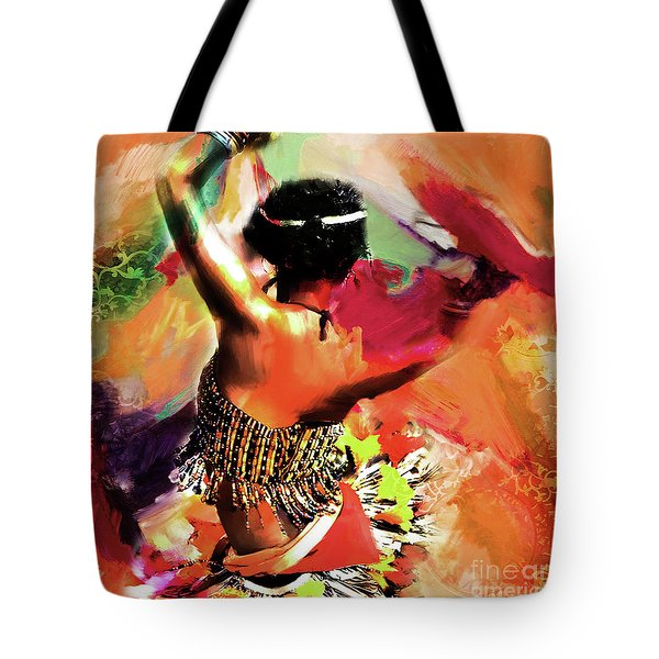 Tribal Dance 0321 Tote Bag