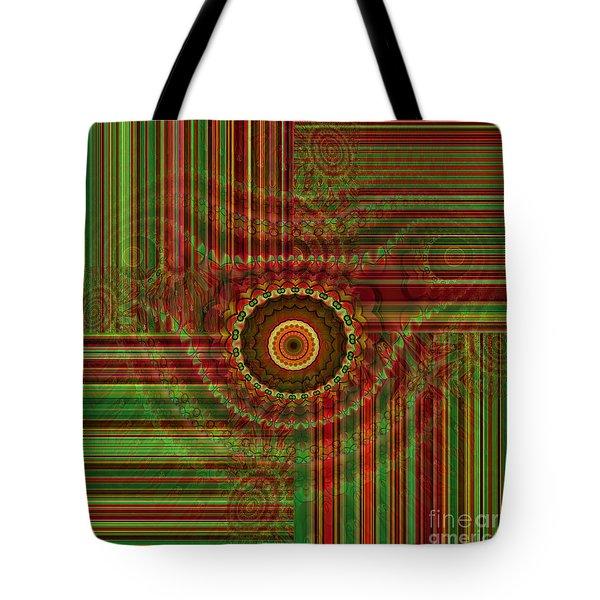 Tribal Drape Tote Bag