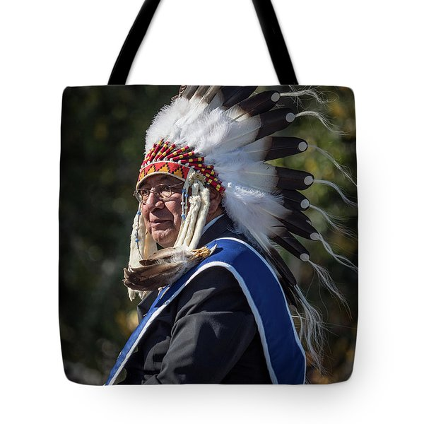 Tribal Elder Tote Bag