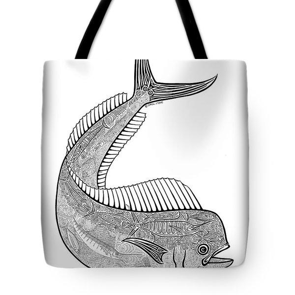 Tribal Mahi  Tote Bag
