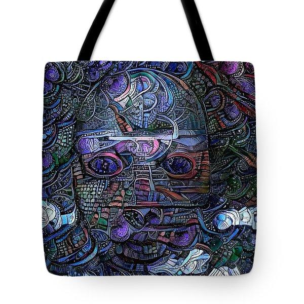 Tribal Ornamets Tote Bag