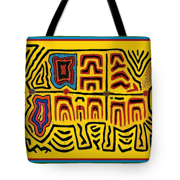 Tribal Turtle Spirit Tote Bag