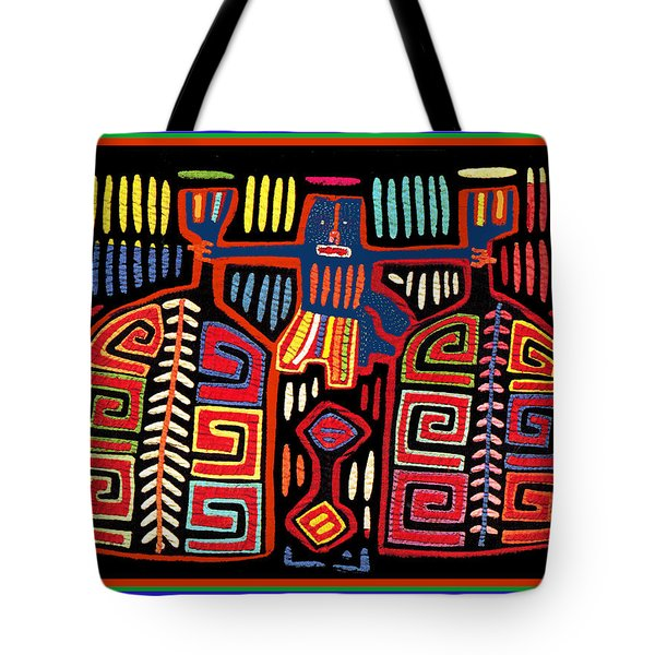 Tribal Woman Fanning Stove Tote Bag