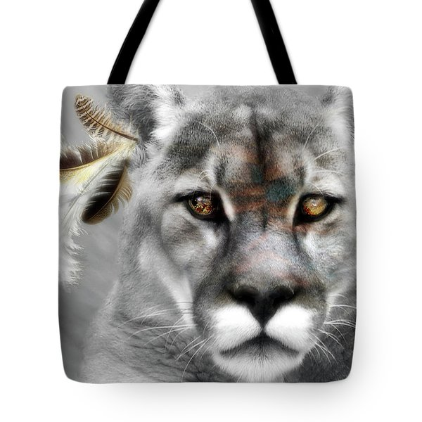 Tote Bag featuring the photograph Tribal by Yvonne Emerson AKA RavenSoul