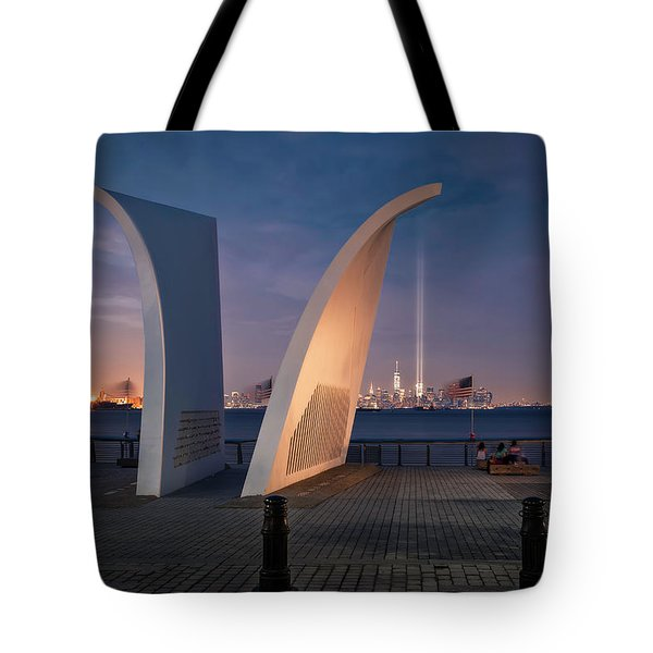 Tribute In Light Tote Bag by Eduard Moldoveanu