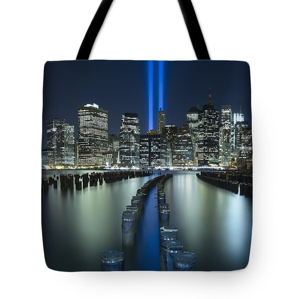 Tribute In Light Tote Bag by Evelina Kremsdorf