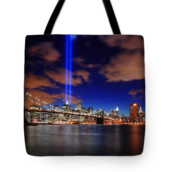 Tribute In Light Tote Bag by Rick Berk