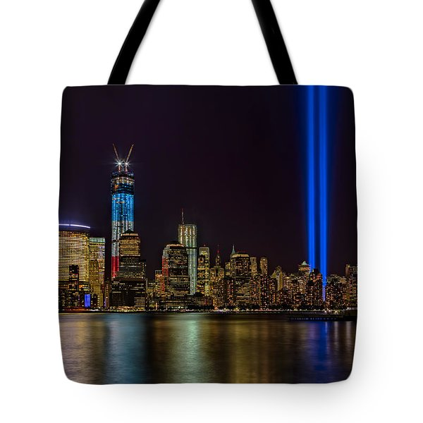 Tribute In Lights Memorial Tote Bag