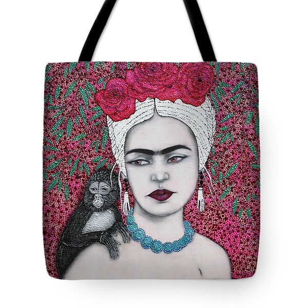 Tote Bag featuring the mixed media Tribute by Natalie Briney