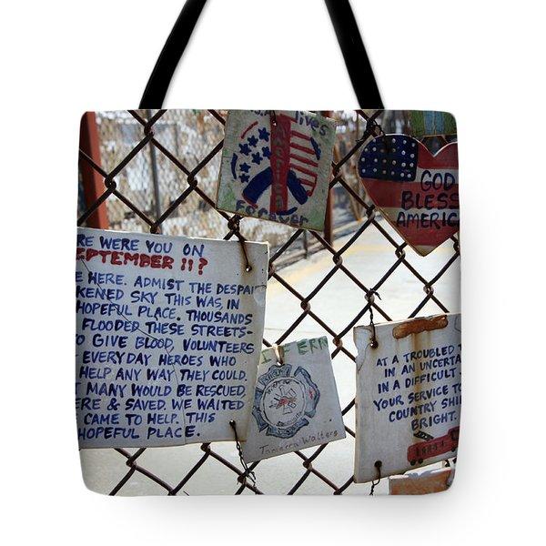Tribute Tiles Tote Bag