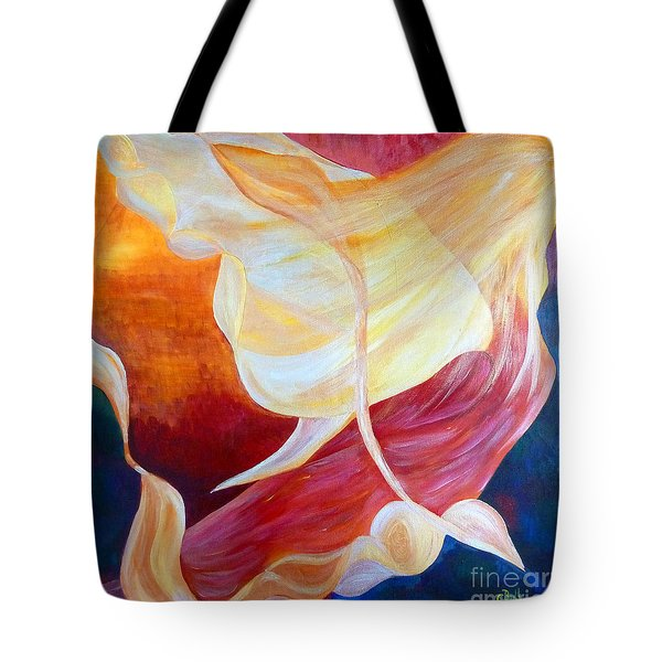 Tribute To An Angel Tote Bag