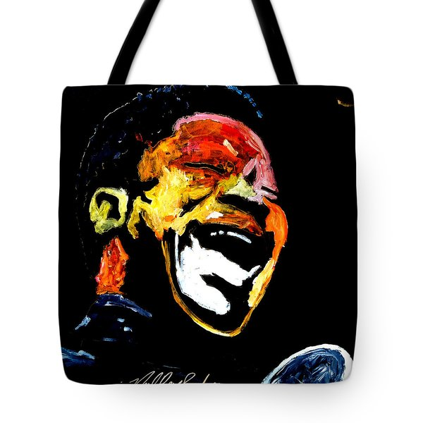 Tribute To Bb King Tote Bag