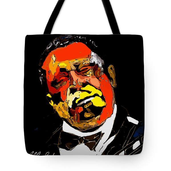 tribute to BB King reworked Tote Bag